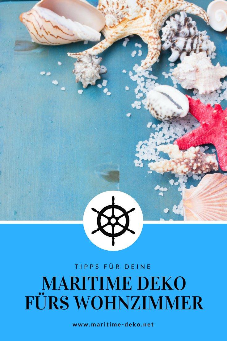 Maritime Deko fürs Wohnzimmer